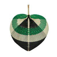 ORIENTAL - wall deco - bamboo - L 60 x W 50 cm - green