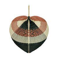ORIENTAL - wall deco - bamboo - L 60 x W 50 cm - rust