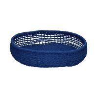OSTERIA - fruit bowl - paper - DIA 35 x H 7 cm - blue