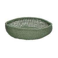 OSTERIA - fruit bowl - paper - DIA 35 x H 7 cm - light green