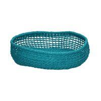 OSTERIA - fruit bowl - paper - DIA 35 x H 7 cm - turquoise