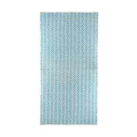 MEKNES - rug - cotton - L 180 x W 120 cm - turquoise