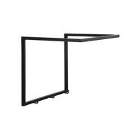 ESZENTIAL - wall hook 3 hooks - metal - L 34,5 x W 30 x H 30,5 cm - black