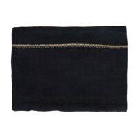 TRIA - nappe de table - lin - L 250 x W 140 cm - noir