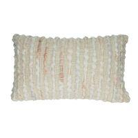 MIAMI - coussin - acrylique / coton - L 50 x W 30 cm - rose