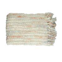 MIAMI - plaid - acryl / katoen - L 170 x W 130 cm - roze