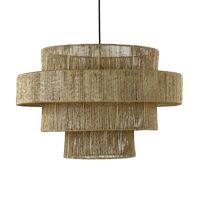 CORFU - hanging lamp - jute - DIA 70 x H 48 cm - natural