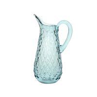OGON - carafe - verre - L 13 x W 10 x H 27 cm - bleu claire