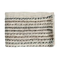 CERULEAN - plaid - coton / polyester - L 170 x W 130 cm - mix de couleurs