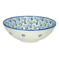 SANTORINI - serving bowl - earthenware - DIA 30 x H 11 cm - white