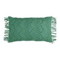 LISBOA - coussin - coton - L 50 x W 30 cm - vert