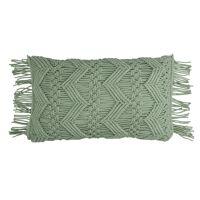 LISBOA - coussin - coton - L 50 x W 30 cm - vert pâle