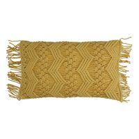 LISBOA - coussin - coton - L 50 x W 30 cm - jaune