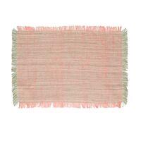 AVIGNON - placemat - linen / viscose - L 48 x W 33 cm - pink