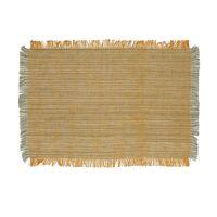 AVIGNON - set de table - lin / viscose - L 48 x W 33 cm - jaune