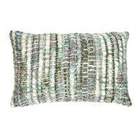 SAVONA - kussen - acryl - L 50 x W 30 cm - groen