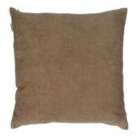 MANCHESTER - kussen - velvet - L 45 x W 45 cm - beige