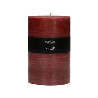 CANDLE - kaars - paraffine wax - DIA 10 x H 15 cm - terracotta