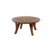 HOPPER - coffee table - acacia wood - DIA 80 x H 38 cm - natural
