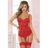 Pleasure Principle Bustier Set