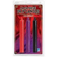 Bougies Japonaises 3 couleurs