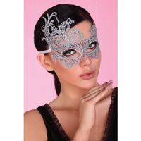 Zilveren verfijnd masker