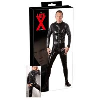 Zwarte Latex Jumpsuit  - Late X