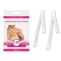 Bretelles de soutient gorge transparent