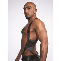 Leather Wallet Harness Black Black
