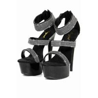 Platform heels strass 14cm