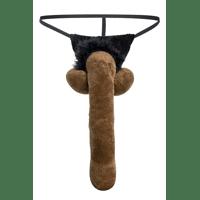 Zwarte penis g-string