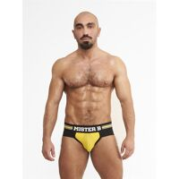 Jock Brief Mister Antwerp Jaune