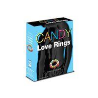 Candy Love Rings -  3 stuks