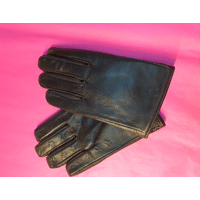 Leren handschoenen met spikes