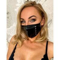 Wetlook Face Mask with studs