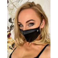 Masque - wetlook avec strass