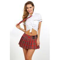Kostuum - Schoolmeisje - 3 pcs