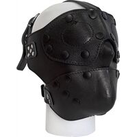 Detachable Leather Face Mask