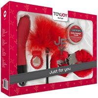 Ondeugende sextoy doos rood - Just For You