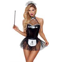 Kostuum - sexy dienstmeisje - 4 pcs