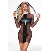 Costume - Nonne sexy - 4 pcs