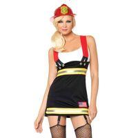 Kostuum - Brandweervrouw
