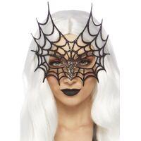 Glitter die cut web mask