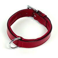 Collier Seven Sins - Cuir rouge