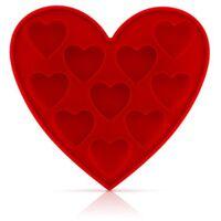 Moule à glaçons en forme de coeur