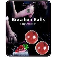 Braziliaanse ballen - Aardbei 2p