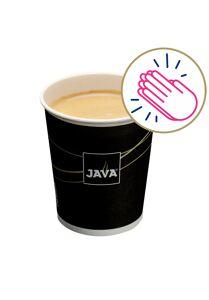 Symbolische kop JAVA Koffie