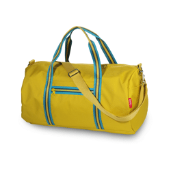 Weekendtas Zipper 2.0 Mustard / Engel