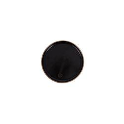 Gebaksbordje aardewerk zwart / Zusss