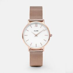 Minuit mesh Rose gold / White